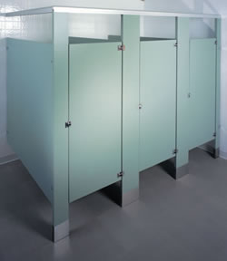 Plastic Laminate partitions