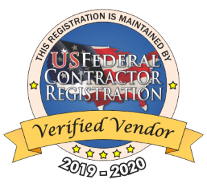 Verified US Federal Contractor Vendor logo