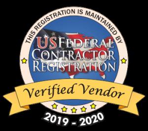 Verified US Federal Contractor Vendor logo